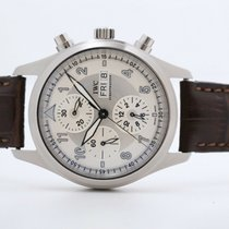 IWC Pilot Spitfire Chronograph Steel 42mm Silver