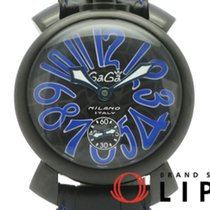 Gaga Milano 48mm Handopwind 5012 tweedehands
