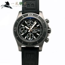 Breitling Superocean pre-owned 44mm Black Rubber