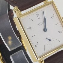 NOMOS Tetra 27 Yellow gold 27,5mm Champagne