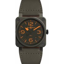 Bell & Ross BR 03-92 Ceramic Ceramic 42mm Brown