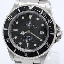 Rolex Sea-Dweller 4000 Zeljezo 40mm Crn