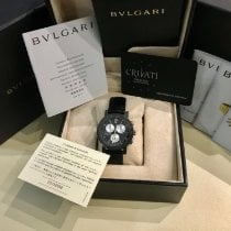 Bulgari Bulgari Carbone 38mm Noir Arabes