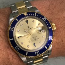 Rolex Submariner Date Steel 40mm Blue No numerals Finland, HELSINKI