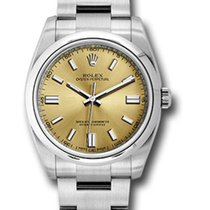 Rolex Oyster Perpetual 36 Steel 36mm White United States of America, New York, NY