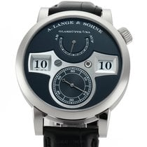 A. Lange & Söhne Zeitwerk White gold 42mm Black United States of America, New York, New York