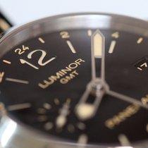 Panerai Luminor 1950 3 Days GMT Automatic Acier 44mm Noir Arabes France, Thonon les bains