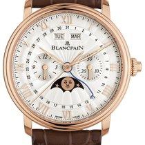 Blancpain Villeret Complete Calendar Pозовое золото 40mm Cеребро