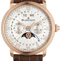 Blancpain Villeret Complete Calendar Rose gold 40mm Silver United States of America, New York, Airmont