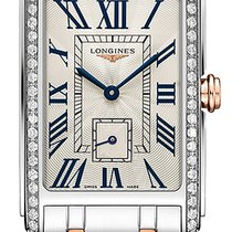 Longines DolceVita Gold/Steel 20.5mm Silver United States of America, New York, Airmont