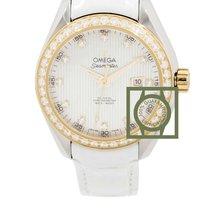 Omega Seamaster Aqua Terra 150M Co-Axial 34mm Yellow Gold Diamond