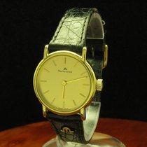 Maurice Lacroix Gold Mantel / Edelstahl Handaufzug Damenuhr /...