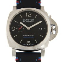 Panerai Luminor Stainless Steel Black Automatic PAM00727