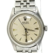 Rolex Bubble Back Steel 34mm Silver United States of America, New York, New York