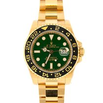 Rolex GMT-Master II, Green Dial 50th Anniversary, Yellow Gold...