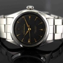 Rolex Oyster Perpetual Black Honeycomb Dial