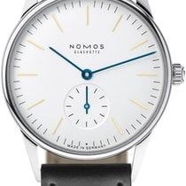 NOMOS Orion Steel 35mm White