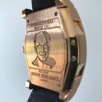 IWC Red gold Automatic 43mm pre-owned Da Vinci Perpetual Calendar