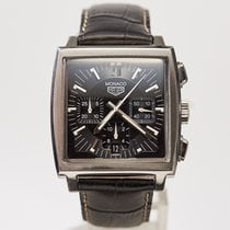 TAG Heuer Steel Monaco pre-owned