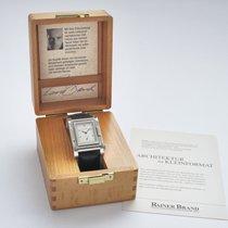 Rainer Brand 44mm Handopwind 1999 tweedehands Zilver