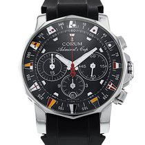 Corum 44mm Automatic 2007 pre-owned Admiral's Cup (submodel) Black