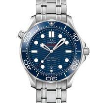 Omega 21030422003001 Steel Seamaster Diver 300 M