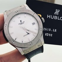 Hublot Classic Fusion 45, 42, 38, 33 mm usado 45mm Titânio