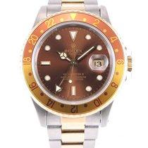 Rolex Chronomètre 40mm Remontage automatique 1991 GMT-Master II Brun