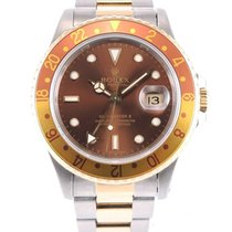 Rolex Or/Acier 40mm Remontage automatique GMT-Master II