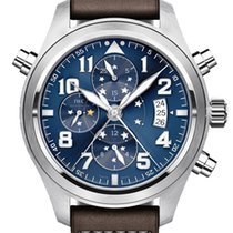 IWC Pilot Double Chronograph new 44mm Steel