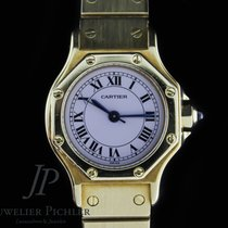 Cartier Santos (submodel) Жёлтое золото 26mm