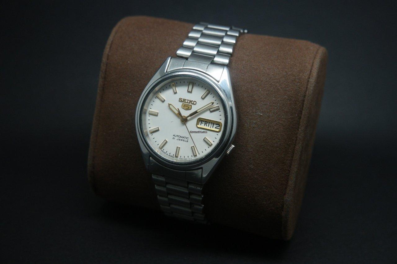 b3ed4056566 Seiko 5 - all prices for Seiko 5 watches on Chrono24