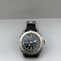 Panerai Luminor Submersible 1950 Depth Gauge Titanium 47mm Black Arabic numerals
