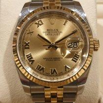 Rolex Datejust Gold/Steel 36mm Champagne Roman numerals United States of America, California, Sunnyvale