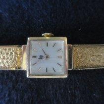 Lip Zegarek damski 15mm Manualny używany Zegarek z oryginalnym pudełkiem i oryginalnymi dokumentami 1968