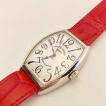 Franck Muller White gold 32mm Automatic 5850 SC pre-owned