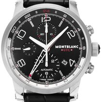Montblanc Steel Automatic 43mm pre-owned Timewalker
