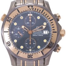 Omega Rose gold Automatic 41.5mm pre-owned Seamaster Diver 300 M