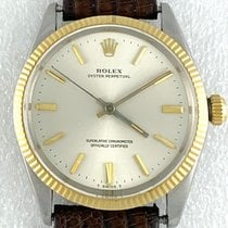 Rolex Oyster Perpetual 34 1005 Very good Gold/Steel 34mm Automatic