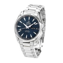 Omega Steel Automatic Blue 45mm new Seamaster Aqua Terra