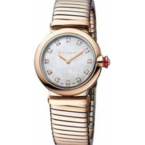 Bulgari Lucea new 2020 Quartz Watch with original box and original papers LU28WSPGSPG/12.T 102952