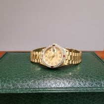 Rolex Yellow gold Automatic Gold pre-owned Datejust