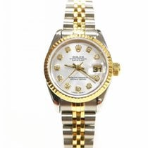 Rolex Lady-Datejust Gold/Steel 26mm Silver United Kingdom, Essex