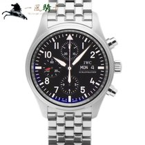 IWC Pilot Chronograph Steel 42mm Black