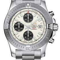 Breitling Colt Chronograph Automatic Stahl Silber
