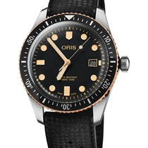 Oris Divers Sixty Five Steel 36mm Blue No numerals
