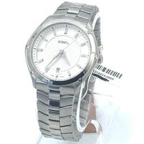 Ebel Sport Steel 32mm Silver No numerals United States of America, New York, New York