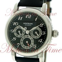 Montblanc Sport Steel 37mm Black Arabic numerals United States of America, New York, New York