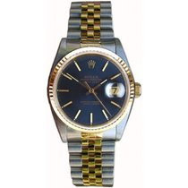 Rolex Datejust Men's Perfect Condition Model 16233 Steel and...