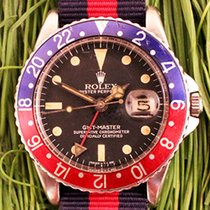 Rolex GMT-Master Ref. 1675 Pepsi with pointed crown guards